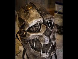 Corvo Costume Halloween Custom Corvo Mask Dishonored