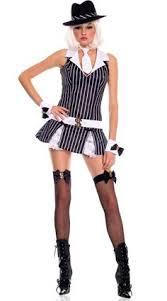Halloween Gangster Costume Toffee Chorus Mafia Queen Bullets Broadway