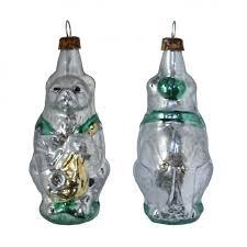 antique style blown glass ornaments
