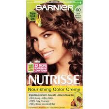 hair color for 45 garnier nutrisse nourishing color creme 60 light natural brown