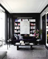 black walls home feng shui interior design the tao dana black walls