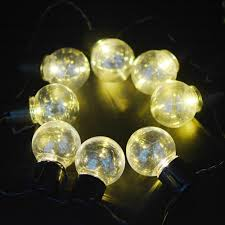 warm white solar fairy lights 3m 20leds solar festoon globe ball string fairy lights warm