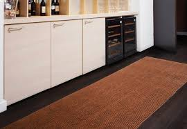 galley kitchen decoration with rug brown accent kitchen floor mats