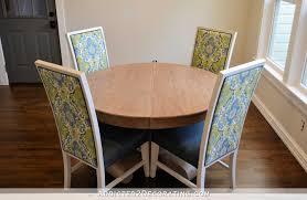 breakfast room dining table makeover