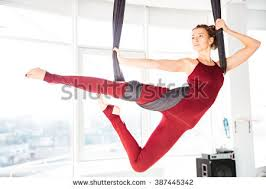 aerial yoga stock images royalty free images u0026 vectors shutterstock
