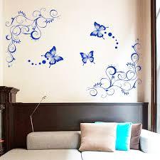 unique design home decoration large pvc flower and butterfly