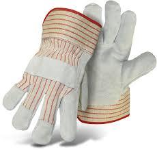 Split Cowhide Economy Split Cowhide Leather Palm Boss Gloves