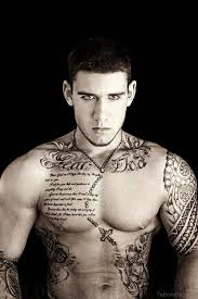 50 fantastic chest tattoos for