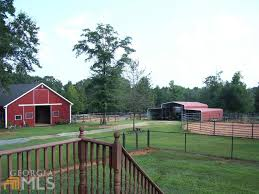 Two Barns House 12 40 Acres Horse Farm Lamar County Ga Land And Farm