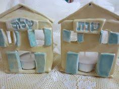 shabbat candlestick holders to make with kids nice if you light