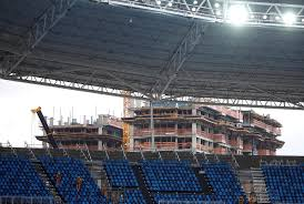 Rio Olympic Venues Now Rio 2016 Faces Economic Meltdown Building Delays Ticket Sale
