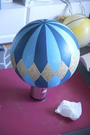 hot air balloon centerpiece diy floating hot air balloons ruffled