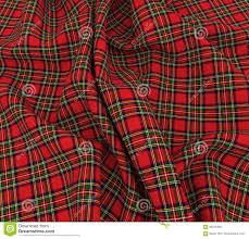 3d bright scottish tartan plaid fabric cloth stock illustration
