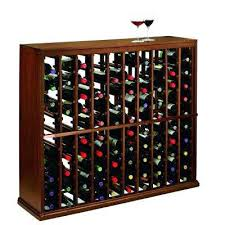 table with wine rack underneath square pub console built in