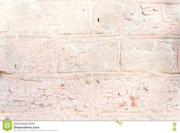pink white brick wall stock image image of gray cracks 77949569