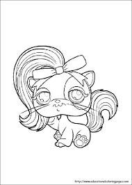 pet shop coloring pages free kids