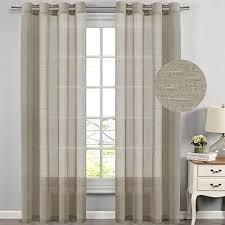 extra long curtains for living room amazon com