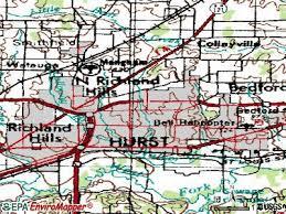 hurst map hurst tx 76053 profile population maps real estate