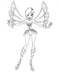 kids winx club coloring page printablefree coloring pages for kids