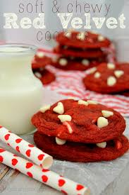 soft u0026 chewy red velvet cookies the domestic rebel
