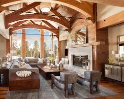mountain home by denton house design homeadore