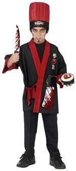 chef costume kids psycho sushi chef costume