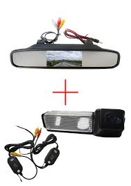 mitsubishi dakar wireless car rear view camera for mitsubishi dakar challenger