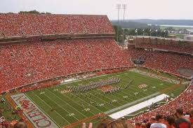 When The Biggest Annual Football Game Comes To Town Memorial Stadium Clemson Wikipedia
