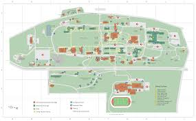 U Of A Campus Map Campus Map Connecticut College