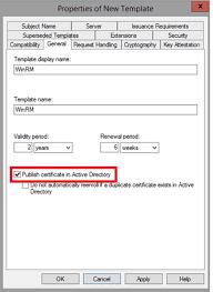 public key infrastructure part 6 u2013 manage certificate templates