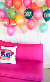 Balloon Decoration For Birthday At Home by 101 Best Balloon Themed Party Images On Pinterest Birthday Party