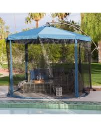 Patio Umbrella 11 Ft Snag These Savings 25 Coral Coast 11 Ft Steel Offset