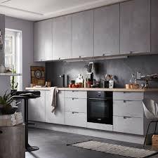 photo cuisine grise et carrelage pour cuisine meilleur deco pour cuisine grise idées