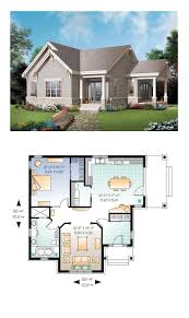 Bungalows Floor Plans by Best 25 1 Bedroom House Plans Ideas On Pinterest Guest Cottage
