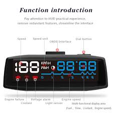 aliexpress com buy newest actisafety 4f hud car head up display