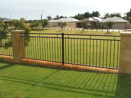 Modern Fence Home Fences Designs Plan Lattice And Gates With Iron Design Latest