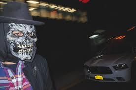 nyc halloween mask portraits michael kowalczyk photography