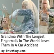 woman with the longest fingernails in the world loses them