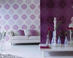 Purple Livingroom by Purple Room Wallpaper Wallpapersafari
