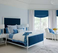 navy and white curtains living room contemporary with chevron