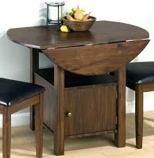 drop leaf table with folding chairs stored inside drop leaf dining table with folding chairs drop leaf folding dining