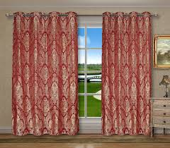 Mickey And Minnie Window Curtains by Red Burgundy Floral Window Curtains U2013 Ease Bedding With Style