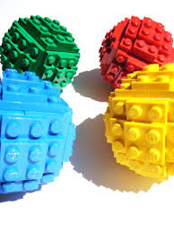 toy brick christmas ball ornament building kit