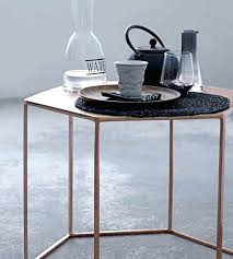 z gallerie side table hexagon side table brilliant hexagonal coffee z gallerie within 17