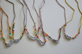 cord necklace making images Diy leather cord necklaces jpg