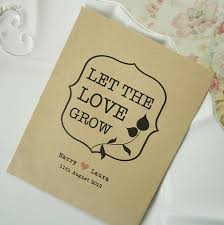 wedding seed packets 10 let the grow seed packet favours seed packets favors