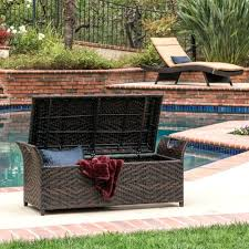 rattan two seater bench wicker loveseat cushions outdoor wicker