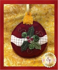 heirloom christmas ornaments pattern