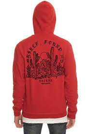 10 deep hoodie vision quest red karmaloop com