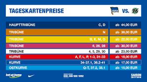 K He Angebote Preise Tickets Herthabsc De